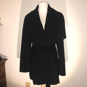 Black Winter Dress Jacket